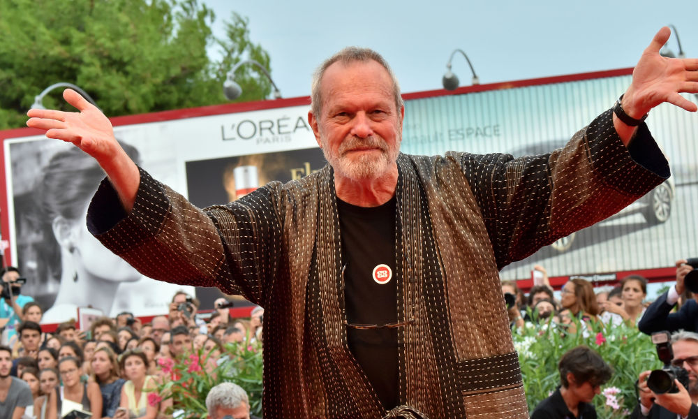 Terry Gilliam à la Mostra de Venise en 2015