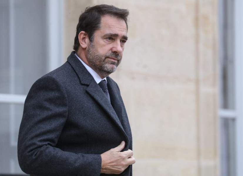 French Interior Minister Christophe Castaner leaves the Elysee presidential Palace after attending the weekly cabinet meeting on December 5, 2018 in Paris.  ludovic MARIN / AFP