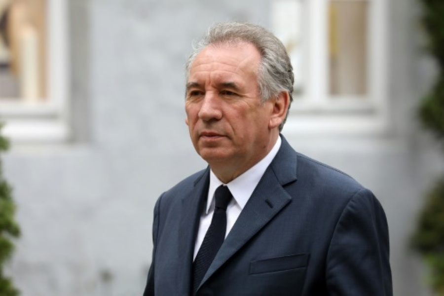 François Bayrou, photo du 10 mai 2018