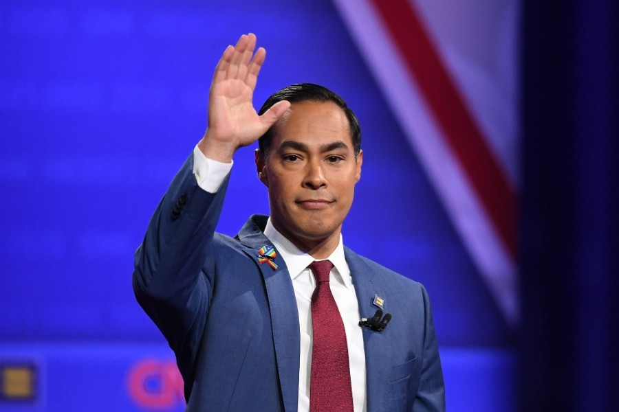 Julian Castro en octobre 2019 à Los Angeles.