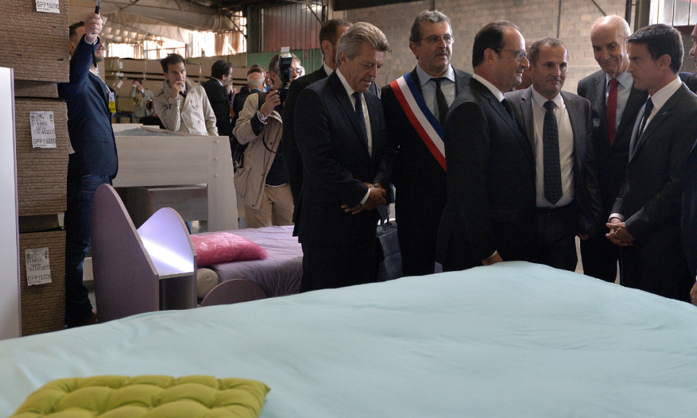 Made in france »: quand hollande cite parisot en exemple