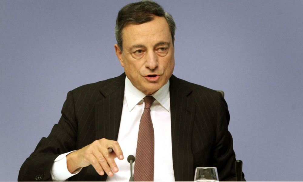 "La BCE poursuit son ""quantitative easing""."