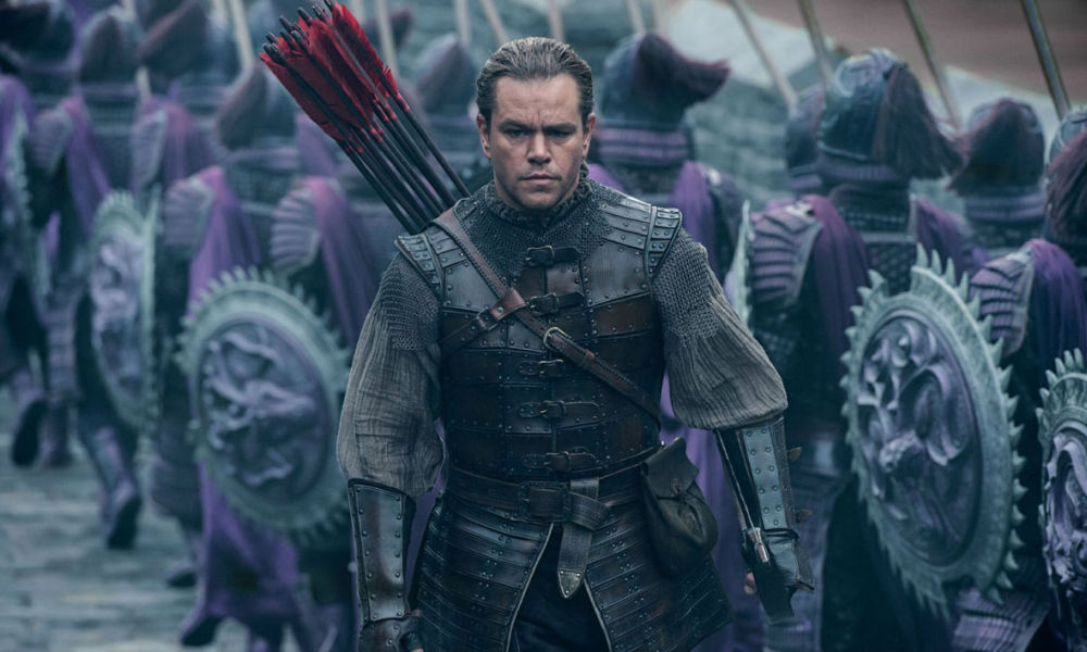 Matt Damon est la star occidentale censée aider le film à s'exporter.