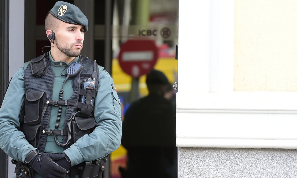 Un policier de la Guardia Civil. (photo d'illustration)