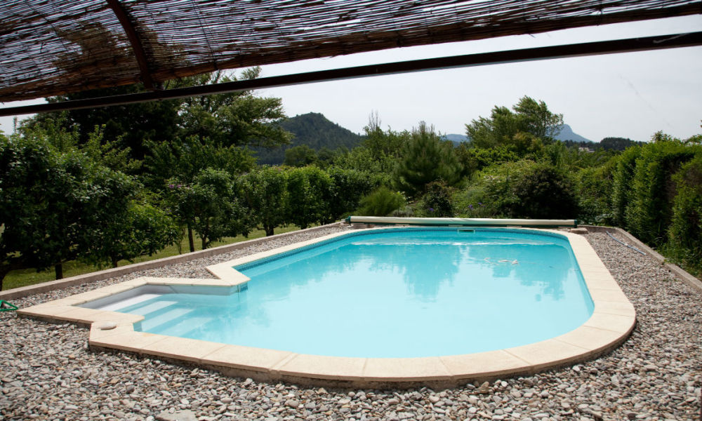 Une piscine privée (photo d'illustration) -