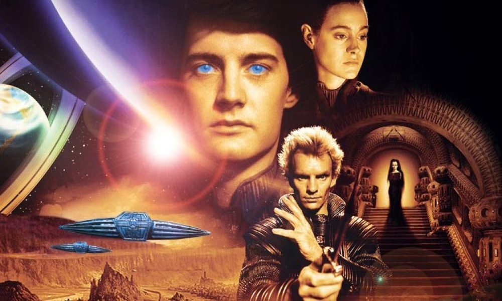 "L'affiche de ""Dune"", le film de David Lynch en 1984"