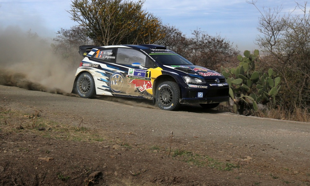 Rallye du Mexique : Ogier, solide leader