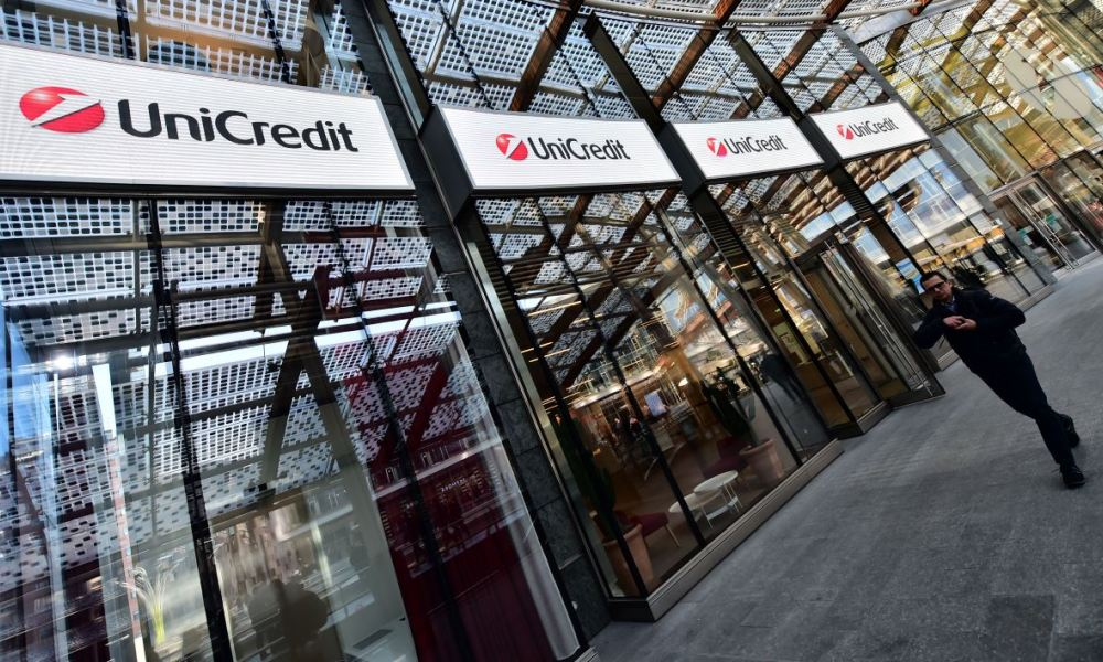 UniCredit perdait plus de 4% en Bourse ce lundi