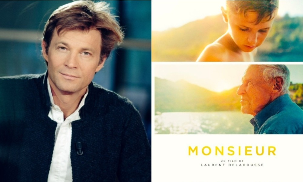 "Laurent Delahousse a dévoilé l'affiche de son film ""Monsieur"""