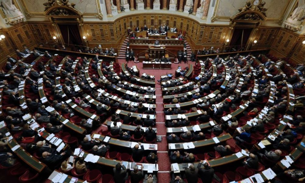 Le Sénat. (illustration)