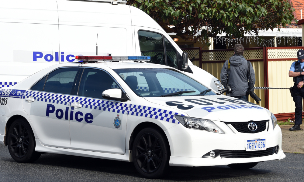 Une voiture de police australienne (photo d'illustration).