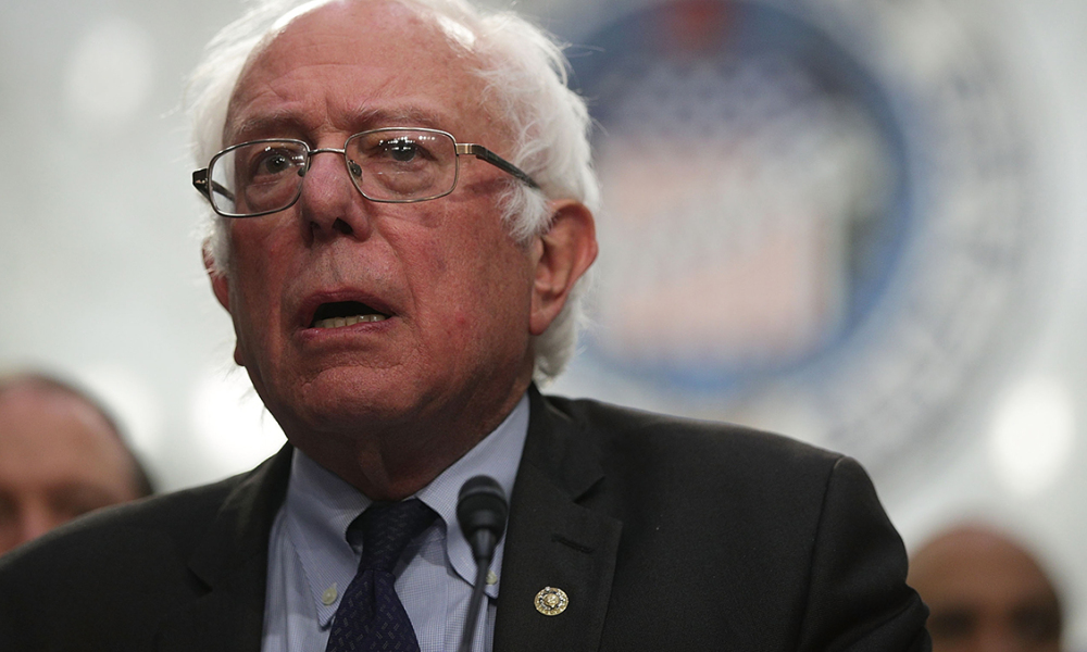 U.S. Sen. Bernie Sanders (I-VT) speaks on health care during an event September 13, 2017 on Capitol Hill in Washington, DC. Sen. Sanders held an event to introduce the Medicare for All Act of 2017