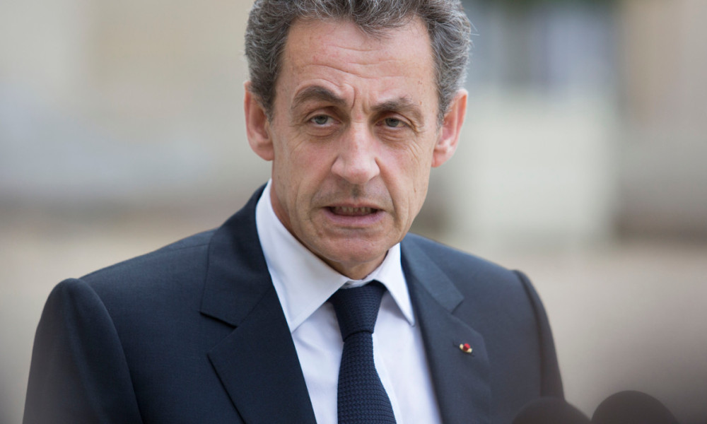 "Former French president and head of the right-wing opposition party ""Les Republicains"" (The Republicans) Nicolas Sarkozy speaks to the media after a meeting with French President who meets French leaders of political parties and movements on June 25, 2016 at the Elysee presidential Palace in Paris, after Britain voted to leave the European Union a day before. Europe's press was awash with gloom and doom over Brexit on June 25, warning that it was a boon for nationalists while urging EU leaders to meet the challenge of their ""rendezvous with history"". GEOFFROY VAN DER HASSELT / AFP"