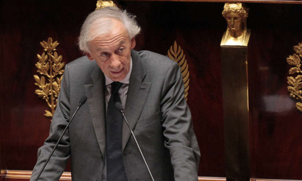 Axel Poniatowski, député du Val d'Oise, à l'Assemblée nationale, le 12 juillet 2011. (Photo d'illustration)