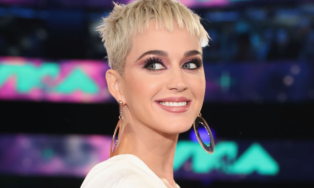 Katy Perry lors des MTV Video Music Awards en 2017