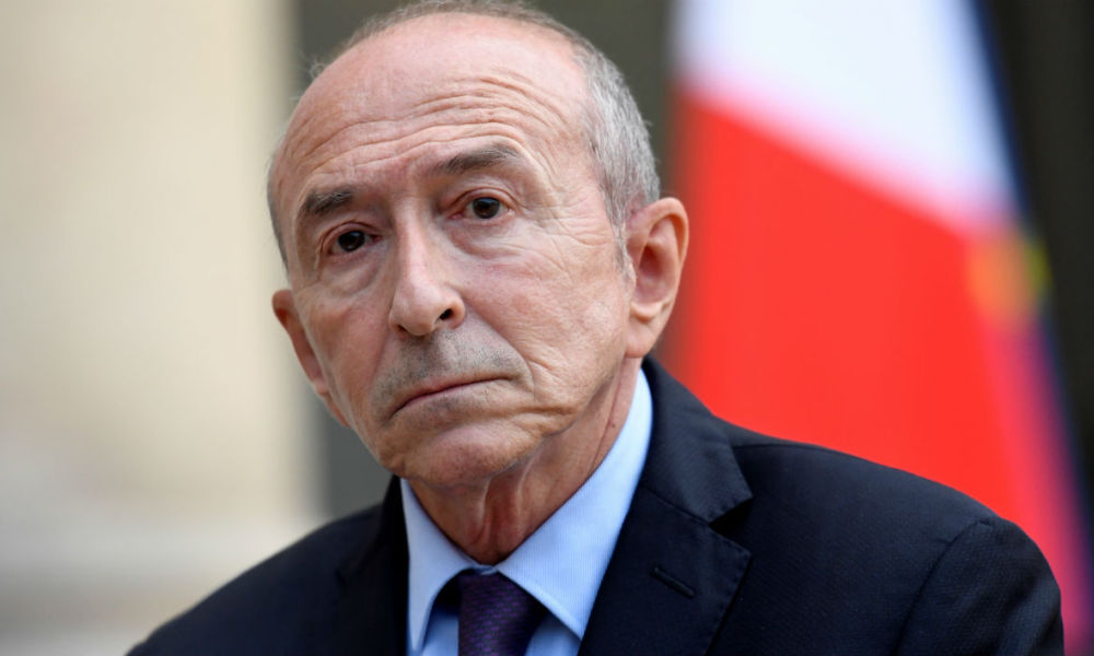 Gérard Collomb le 10 septembre 2017 à l'Élysée (photo d'illustration)
