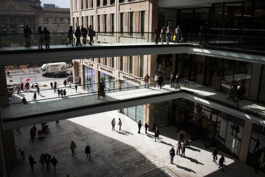 Le Mall of Berlin avait ouvert en grande pompe en septembre 2014