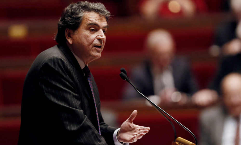 French righ-wing UMP member of Parliament Pierre Lellouche speaks during a debate on November 28, 2014 in the French National Assembly in Paris, on a motion urging the government to recognise Palestine as a state, amid growing European frustration at the moribund Middle East peace process. The symbolic motion is expected to pass comfortably on December 2 when the lower house of parliament votes on the text proposed by the ruling