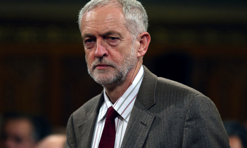 Jeremy Corbyn, le 20 octobre 2015. - Dan Kitwood - Pool - AFP
