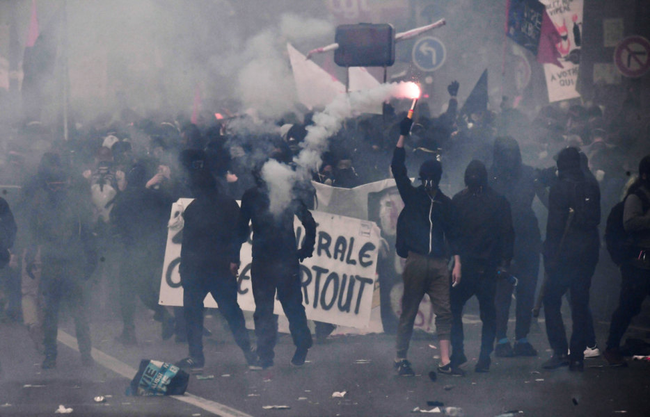 Violences lors des manifestations du 1er mai.