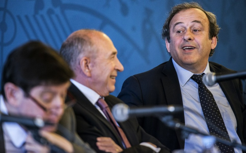 Michel Platini, le président de l'UEFA à l'origine du fair-play financier.