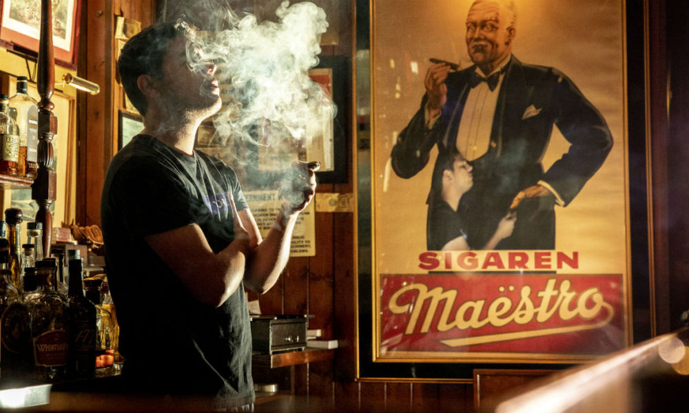 Le Buena Vista Cigar Club, bar à cigares de Beverly Hills, aux Etats-Unis