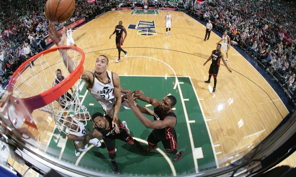 NBA : Le Heat stoppe le Jazz, malgré Gobert
