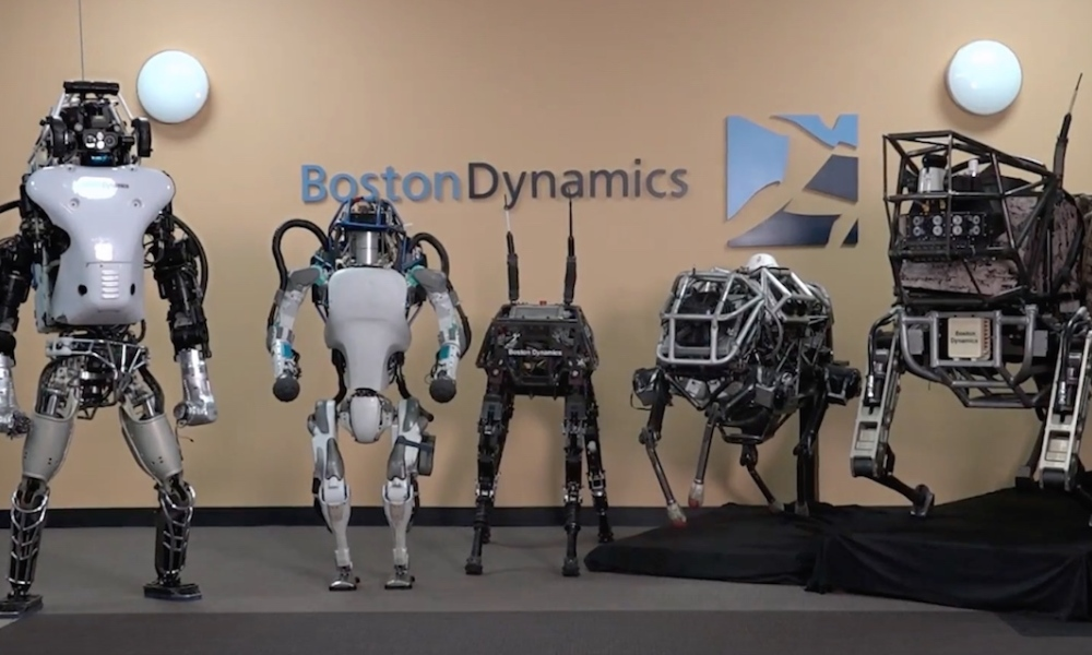 Robots Boston Dynamics