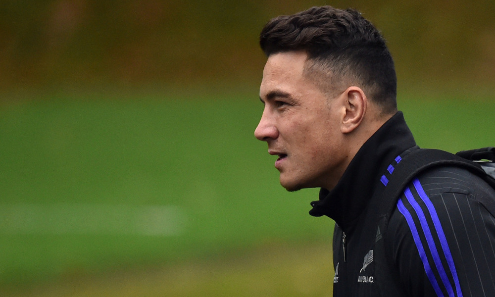 Sonny Bill Williams, le 29 octobre 2015.