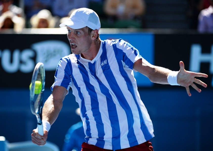 Rome : Berdych force tranquille