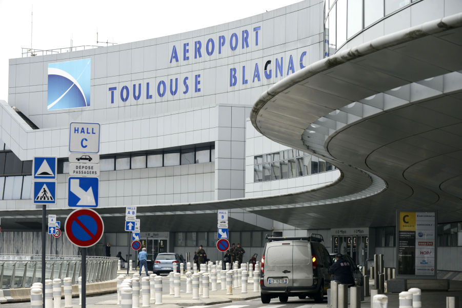 L'aéroport de Toulouse-Blagnac. (Photo d'illustration)