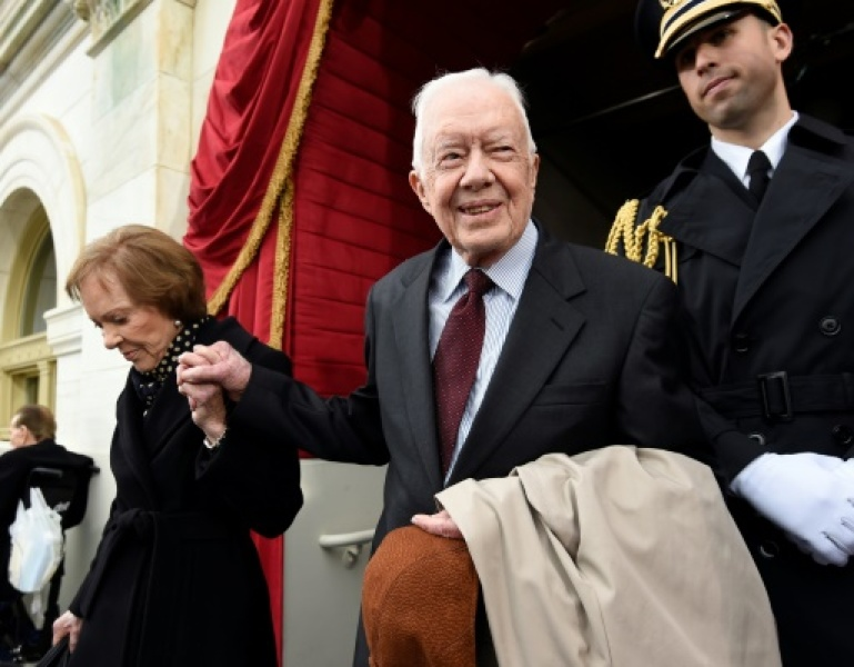 Jimmy Carter le 20 janvier 2017