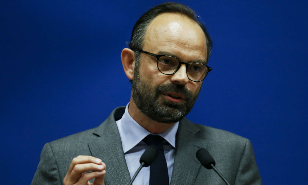 Édouard Philippe - CHARLY TRIBALLEAU / AFP