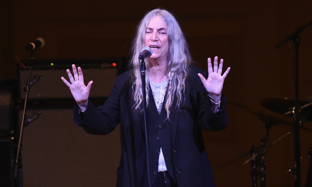 Patti Smith en mars 2018