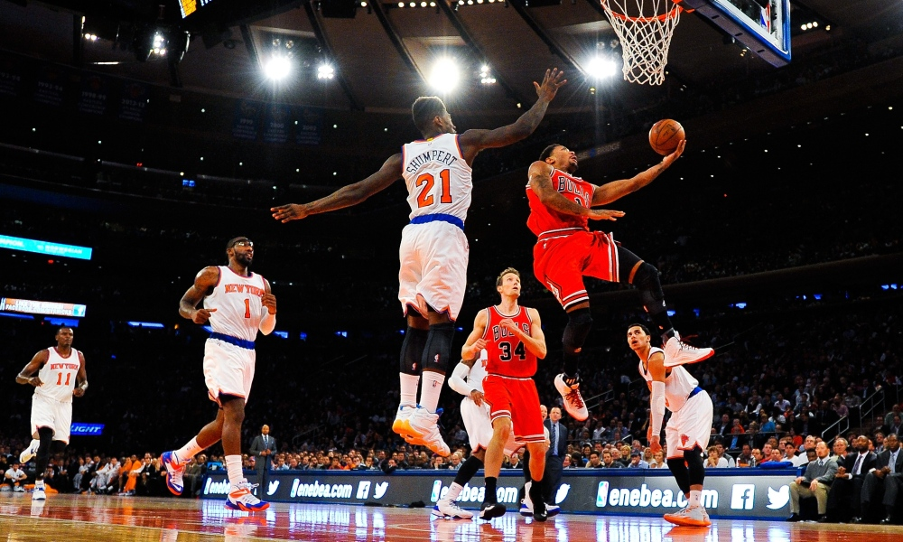 NBA : Chicago éteint le Madison Square Garden