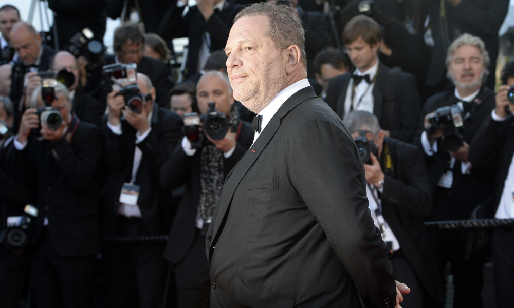 Harvey Weinstein à Cannes le 24 mai 2013