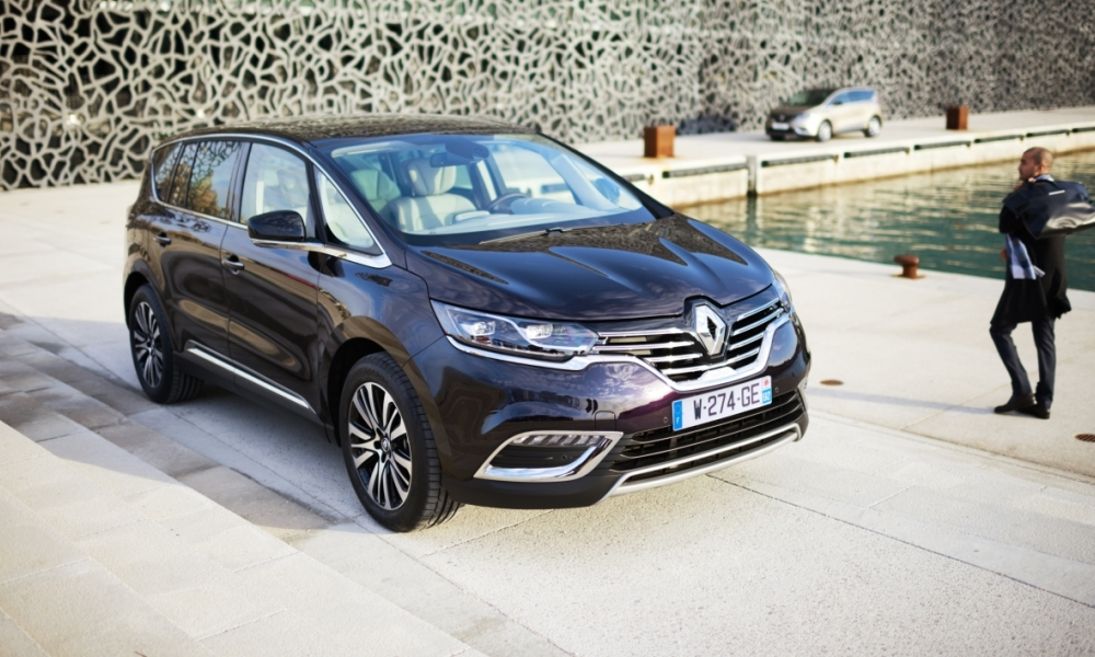 Renault Espace Daimler Mercedes Nissan Crossover