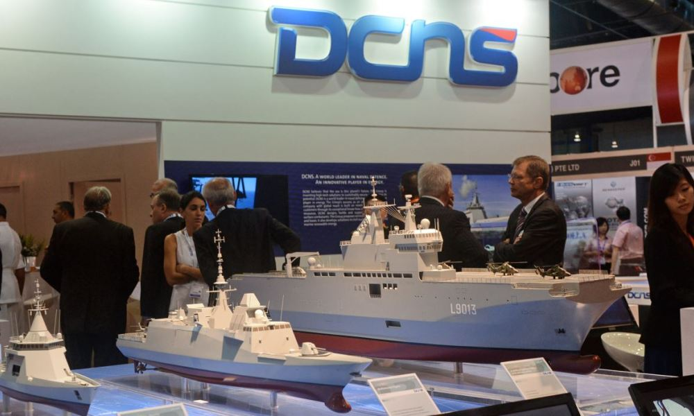 DCNS vise désormais 50 de son chiffre d'affaires à l'international