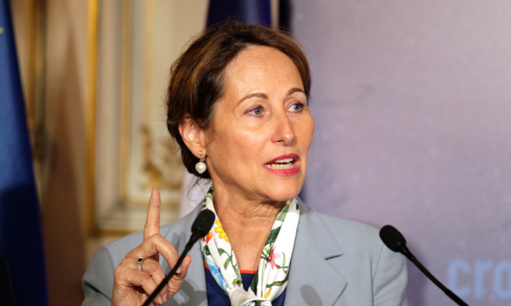 Ségolène Royal le 26 mai 2015, à Paris