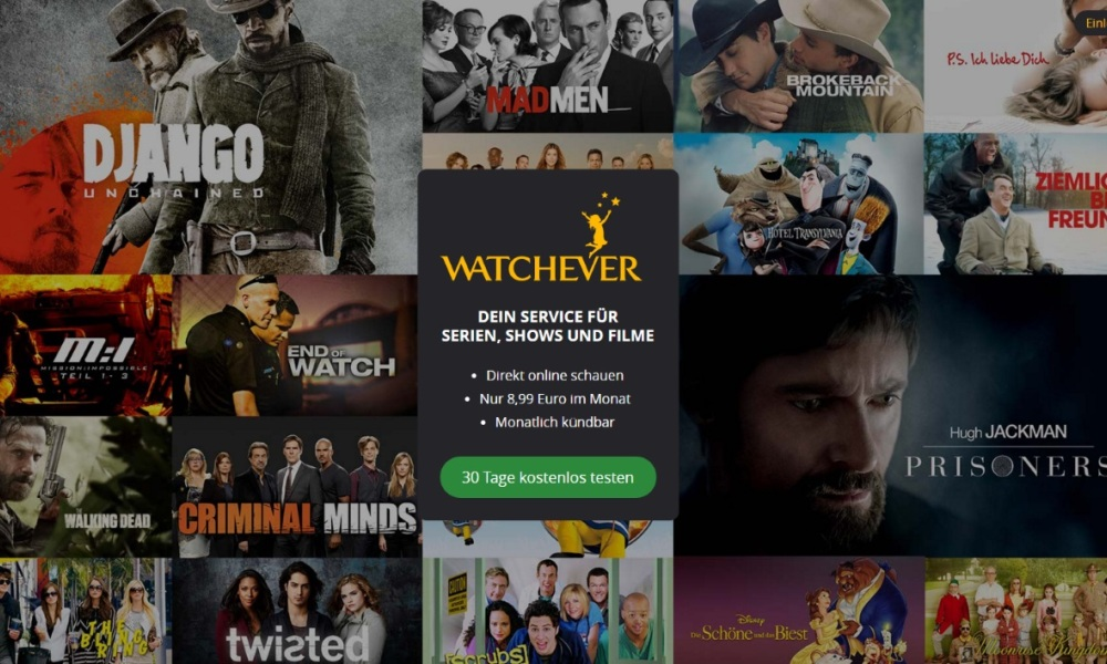 Watchever, concurrent allemand de Netflix