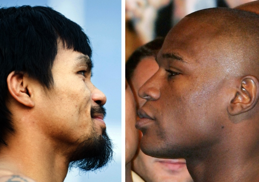 Mayweather chambre Pacquiao : « Je suis le plus malin »