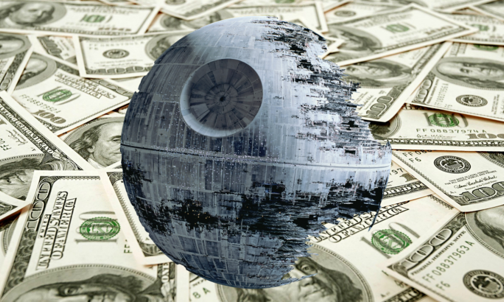 Star Wars: la destruction de l'étoile noire, un cataclysme financier
