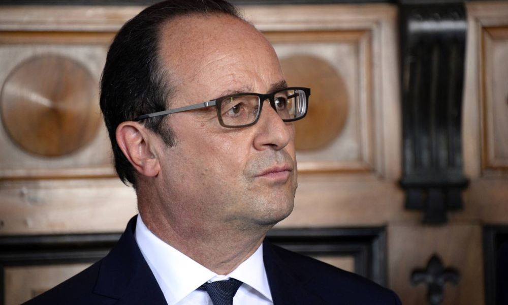 François Hollande (illustration)