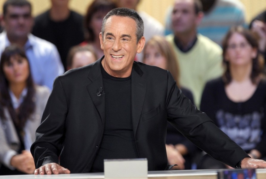 "Thierry Ardisson sur le plateau du ""Grand Journal"""