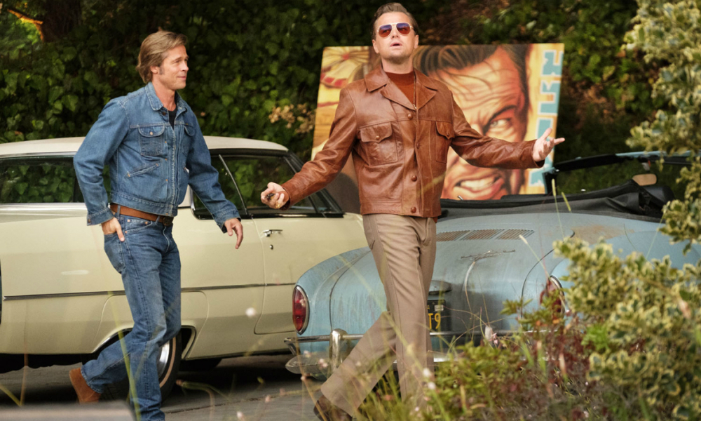 Brad Pitt et Leonardo DiCaprio dans Once Upon a Time… in Hollywood