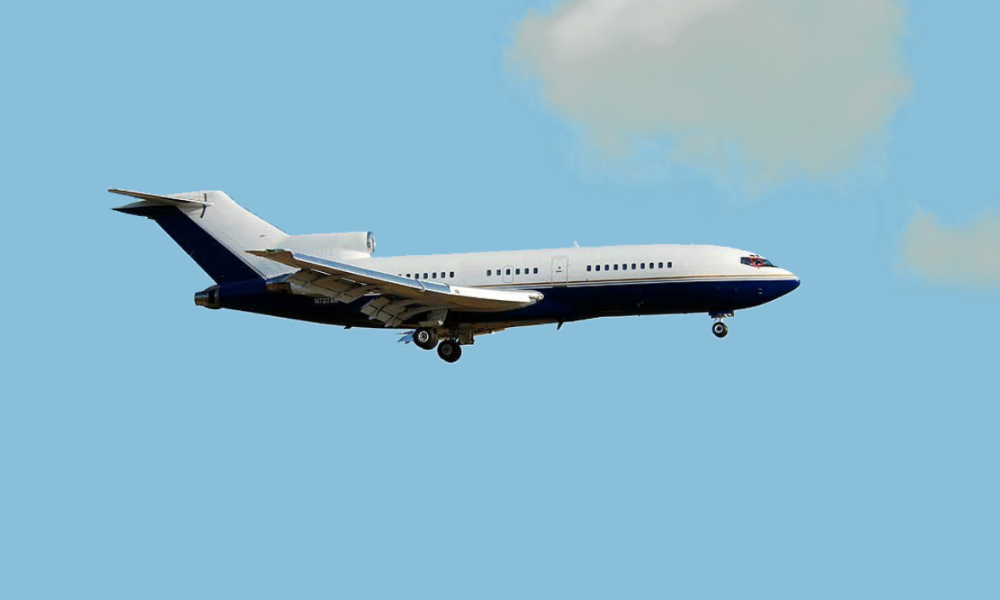 Boeing 727 André Agassi