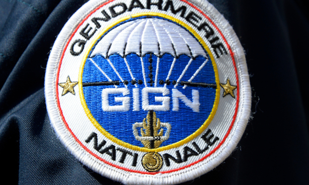 Insigne du GIGN (illustration).