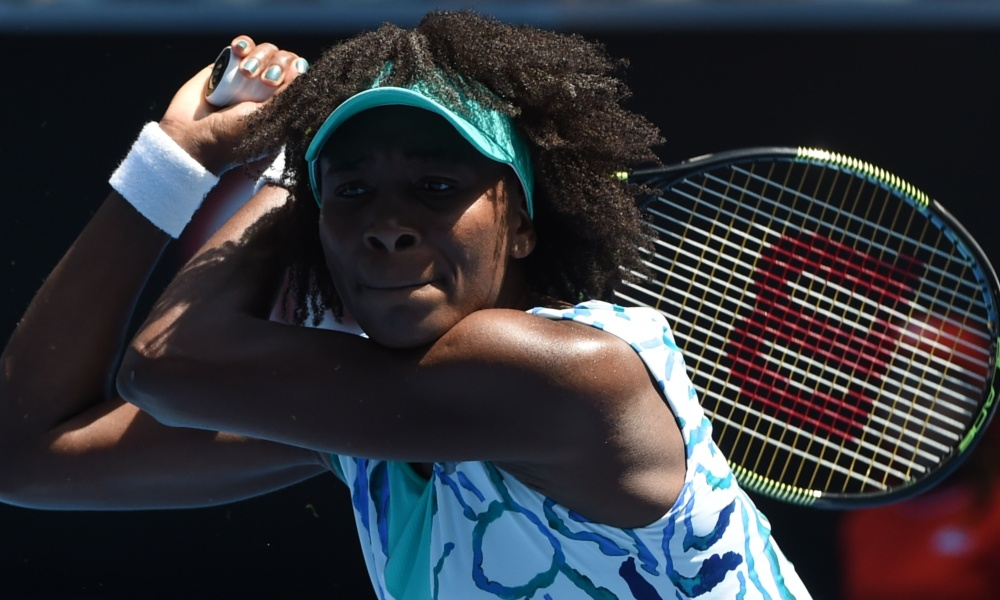 Open d'Australie : V.Williams de retour en huitièmes