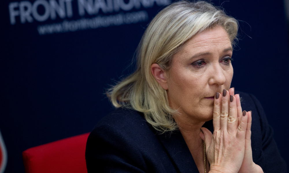 La présidente du Front national Marine Le Pen.