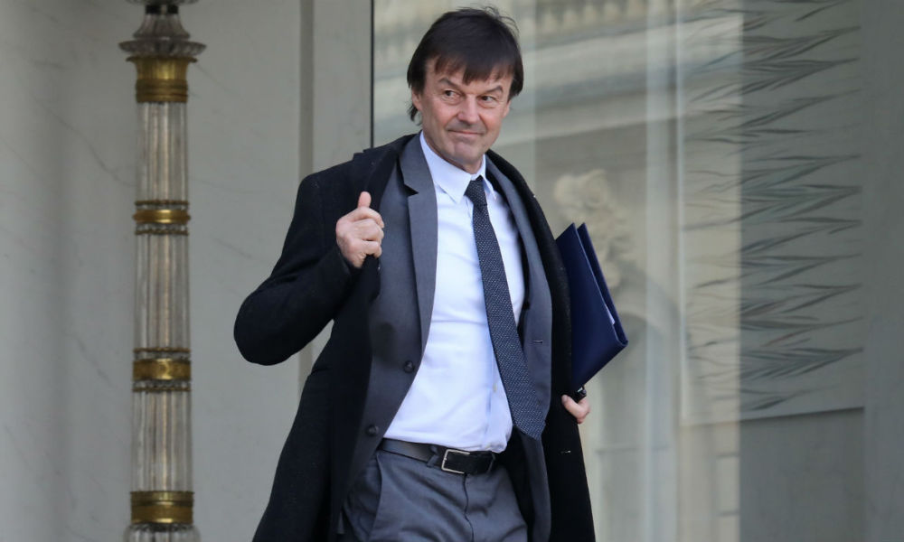 Nicolas Hulot - LUDOVIC MARIN / AFP Commenter 0